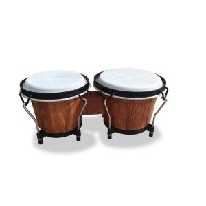 Soundsation Coppia Di Bongos 6,5' E 7,5' Dark Wood Satin