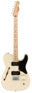 SQUIER PARANORMAL CABRONITA  TELECASTER THINLINE OLYMPIC WHITE