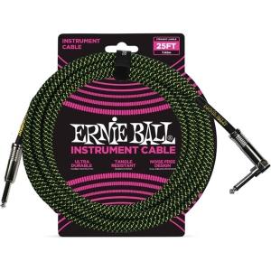 Ernie Ball 6066 Cavo Black Green Mt7,5