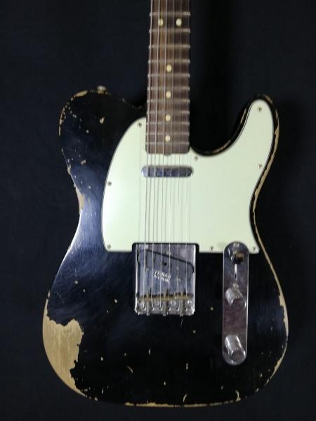 Fender 63 Telecaster heavy relic 2017 usata 0