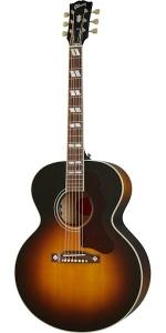 Gibson J-185 Original Vintage Sunburst Chitarra Acustica Elettrificata