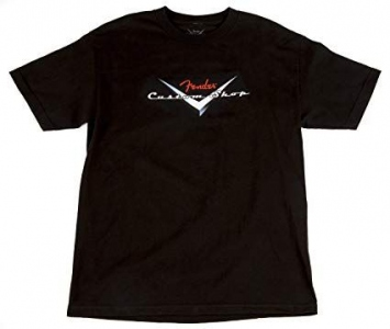 Fender T-Shirt Custom Shop Black Small