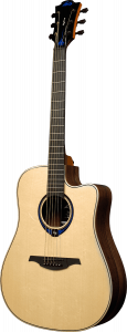 Lag Thv30Dce Chitarra Acustica Natural Con Hyvibe System