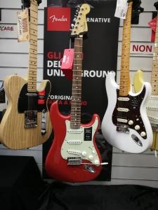 Fender Stratocaster Player Fiesta Red Chitarra Elettrica