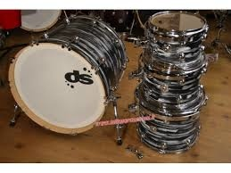 Drum Sound Batt 5Pz Equalized Grey Blak Ex Demo