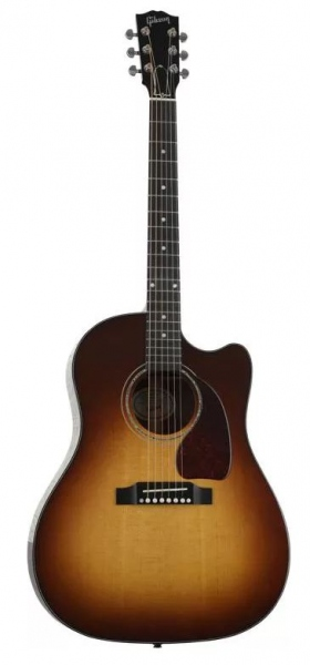 Gibson J45 M Acoustic Electric Walnut Burst