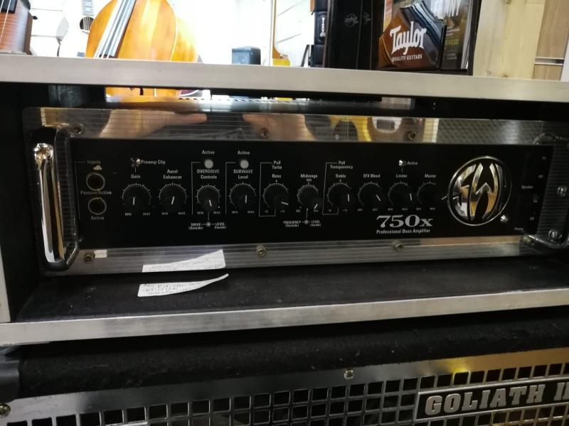 SWR 750X Testata USATA