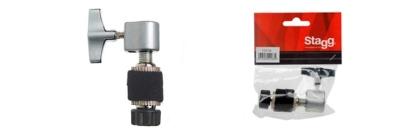 Stagg CLT26 Blocchetto Hi-Hat con Foro da 6 mm