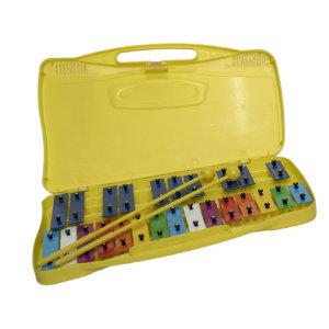 Oqan Qpp-25 Metallofono Glockenspiel Battenti Multicolore