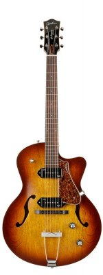 GODIN 5TH AVENUE CUTAWAY KINGPIN II COGNAC BURST