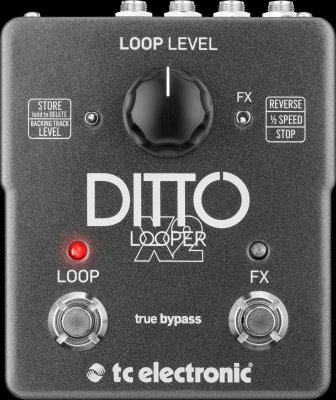 TC ELECTRONIC DITTO X2 LOOPER PEDALE EFFETTO
