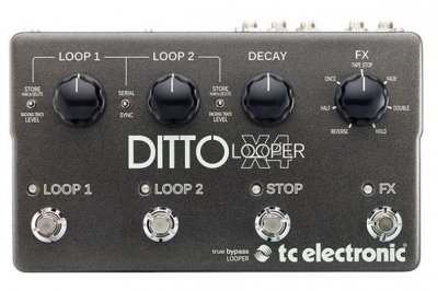 TC ELECTRONIC DITTO X4 LOOPER  PEDALE EFFETTO