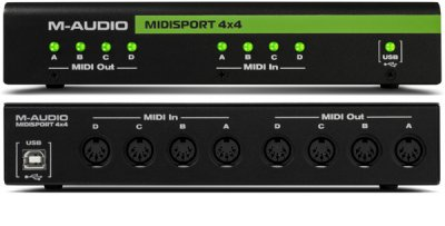 M AUDIO MIDISPORT 4X4