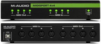 M Audio Midisport 4X4