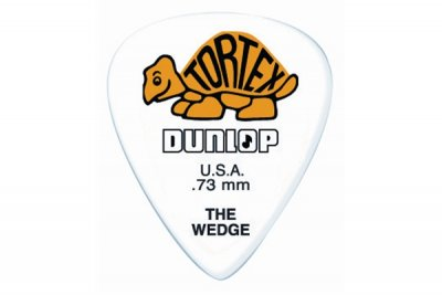 Dunlop 424R Tortex Wedge Yellow .73