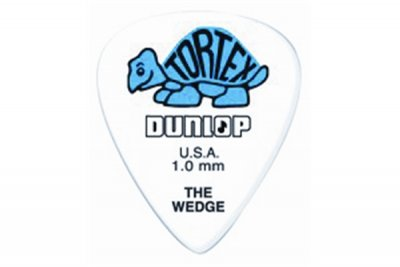 Dunlop 424R Tortex Wedge Blue 1.0