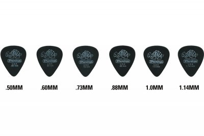 Dunlop 488R Pitch Black Standard 1.0