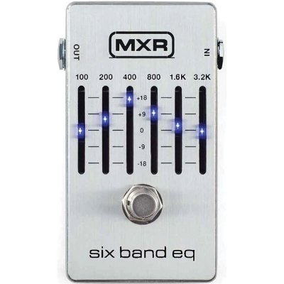 MXR M109S  6 BAND EQUALIZER PEDALE EFFETTO