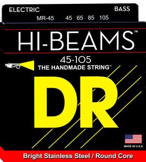 Dr Strings Muta Hi-Beam Mr45 Medium  45-105