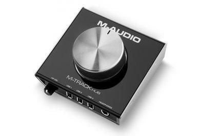 M Audio M-Track Hub Interfaccia Audio Usb Con Hub Integrato