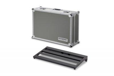RBO STAGE FC Rockboard Stage, pedaliera 61x31cm con Flight Case