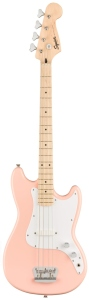 Squier Affinity Bronco Bass Shell Pink