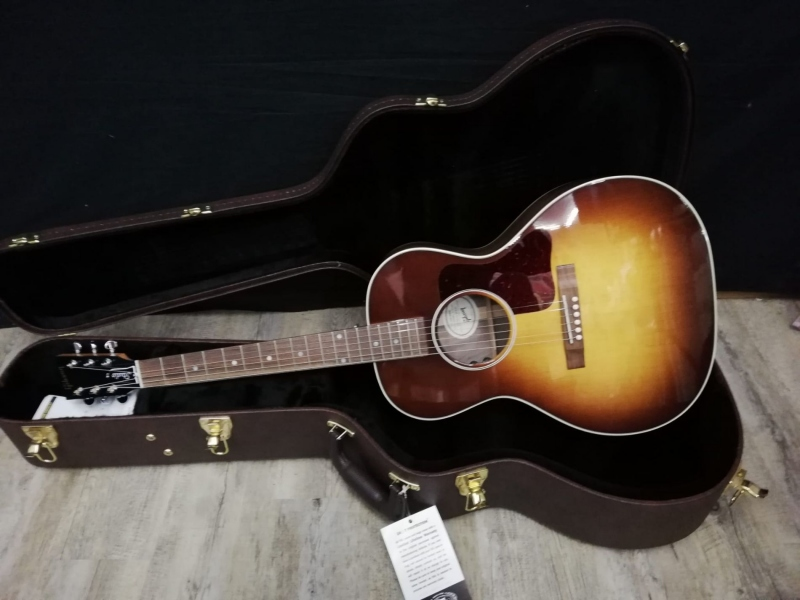 Gibson L00 2019 Studio Walnut Burst 8