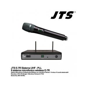 Jts E7THD Radiomicrofono Single Channel 690-726 Mhz