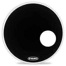 EVANS BD18RB PELLE RISONANTE EQ3 18 BLACK