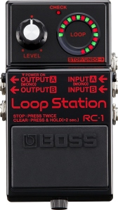 Boss Rc-1Bk Loop Station Pedale Effetto