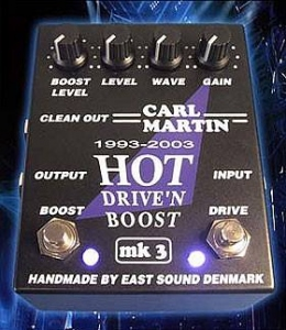 Carl Martin hot drive'n boost usato