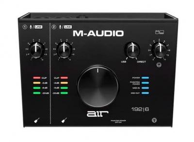 M Audio Air 192-6 Interfaccia Audio Midi Usb 2 In / 2 Out Con 2 Ingressi