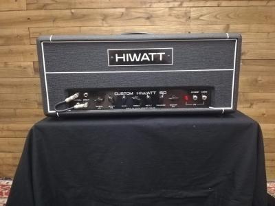 Hiwatt Custom 50 head Usata