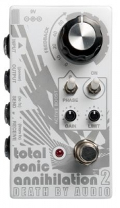 DEATH BY AUDIO TOTAL SONIC ANNIHILATION 2 FEEDBACK RELOOPING PEDAL