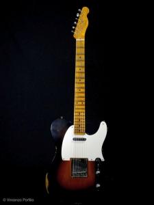 Fender Custom Shop '54 Telecaster Wide Fade 2 Color Sunburst