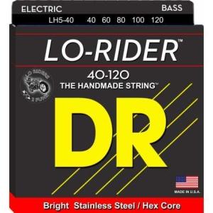 Dr Strings Lh5-40 Lo-Rider Lite 40-120 Lite
