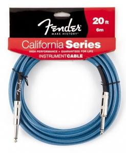 Fender Cavo 6Mt California Lake Placid Blu