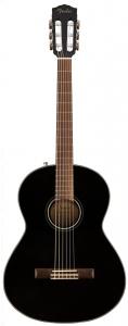 Fender Cn60S Black Chitarra Classica