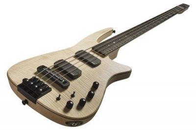 NS Design CR Radius Bass 4 Fretless Natural Satin