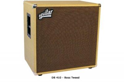 Aguilar DB 410 - 8 ohm - boss tweed