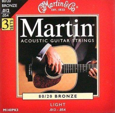 Martin m140pk3 80/20 bronze light