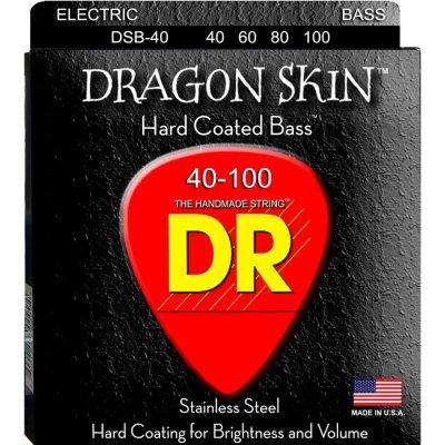 DR STRINGS MUTA DSB40 DRAGON SKIN 40-100 LITE