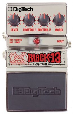 DIGITECH BLACK 13 XAS-SI PEDALE EFFETTO