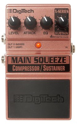 DIGITECH XMS COMPRESSOR SUSTAINER PEDALE EFFETTO