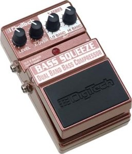 DIGITECH XBS BASS SQUEEZE PEDALE EFFETTO