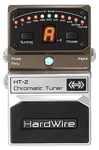 DIGITECH HARDWIRE HT2 CHROMATIC TUNER PEDALE EFFETTO