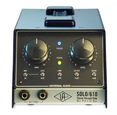 Solo/610 Classic Vacuum Tube mic pre & DI