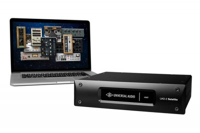 UNIVERSAL AUDIO UAD2 SATELLITE OCTO CUSTOM THUNDERBOLT