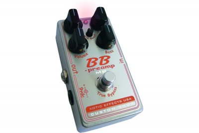 XOTIC BBP-MB CUSTOM SHOP  PEDALE EFFETTO
