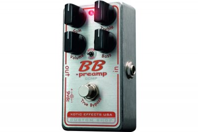 XOTIC BBP COMP  PEDALE EFFETTO